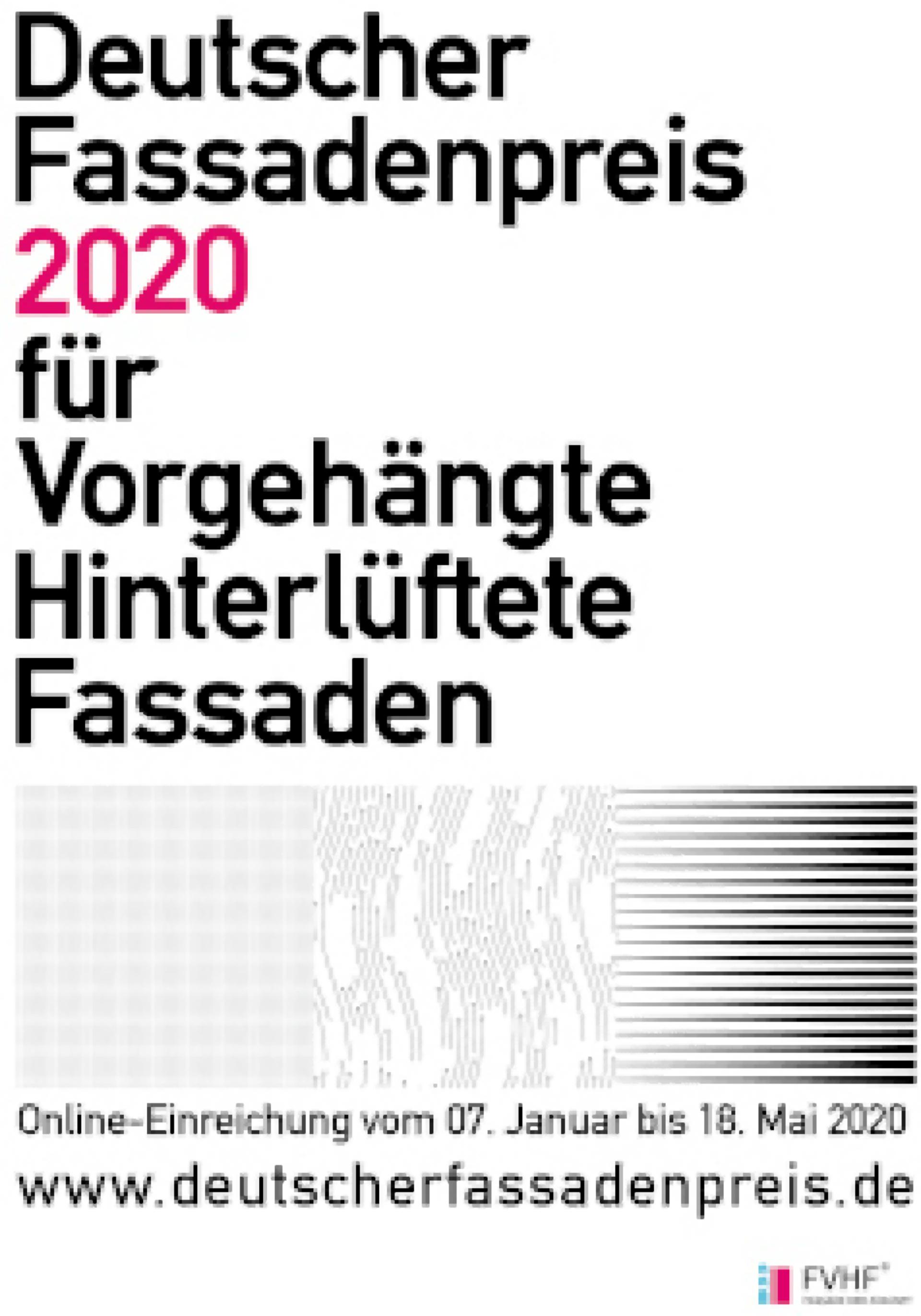 """Recyclinghaus am Kronsberg mit Sonderpreis """"Deutscher FassadenPreis 2020"""" vom Fachverband Baustoffe und Bauteile prämiert"""