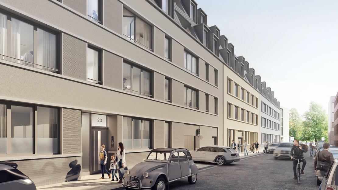 Eigentumswohnungen in der Striehlstraße_mittengrün_gundlach
