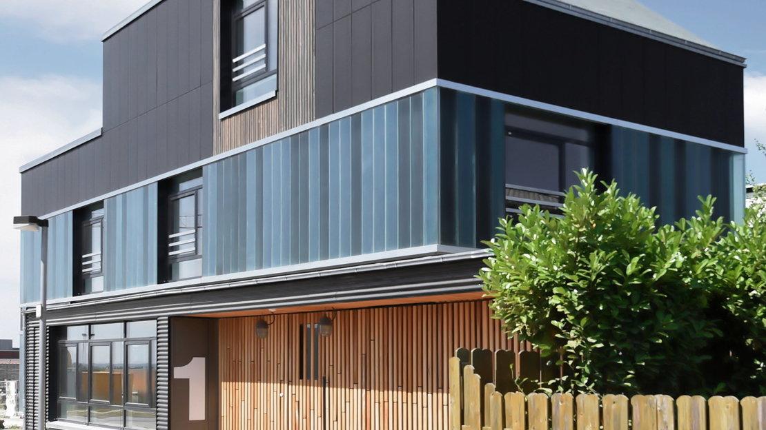Recyclinghaus am Kronsberg Aussenansicht 2_Gundlach Hannover