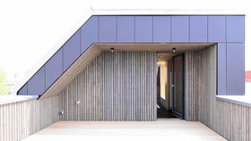 Recyclinghaus am Kronsberg Dachterrasse_Gundlach Hannover