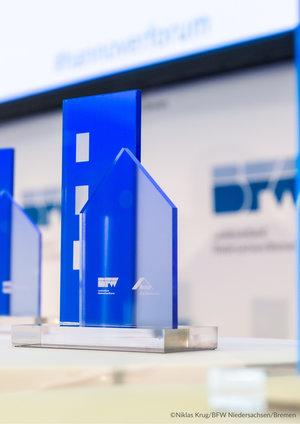 Recyclinghaus am Kronsberg mit dem Innovationspreis 2021 des BFW Niedersachsen/Bremen ausgezeichnet