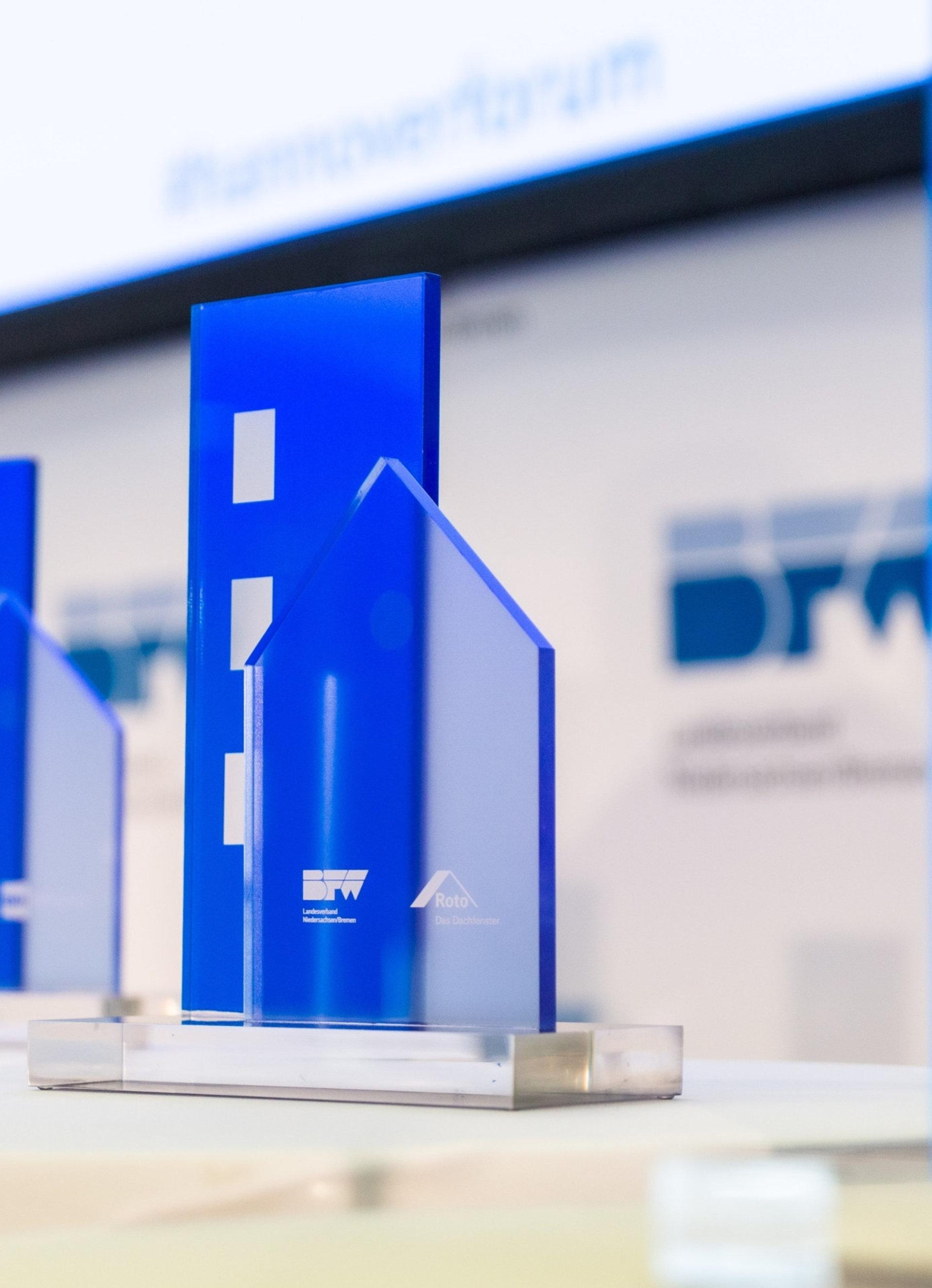 Recyclinghaus mit dem Innovationspreis 2021 des BFW ausgezeichnet