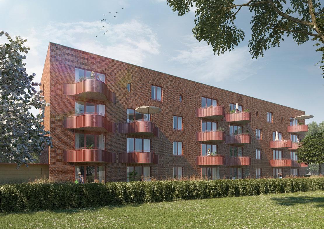 Eigentumswohnungen in Groß-Buchholz_Aussenansicht