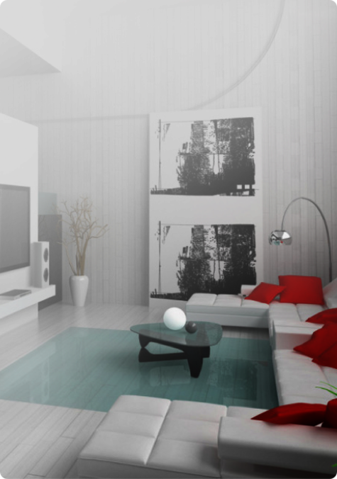 Inneneinrichtung Musterwohnung Gundlach Bau und Immobilien