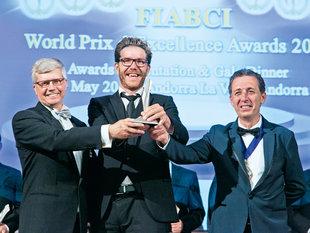 FIABCI World Prix d'Excellence: Silber das Projekt VIER_Gundlach
