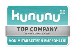 TOP Company ausgezeichnet von Kununu