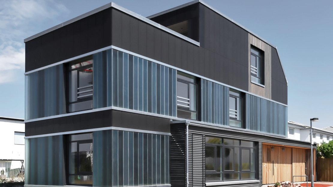 Recyclinghaus am Kronsberg Aussenansicht 1_Gundlach Hannover